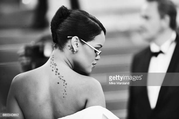Rihanna during the 70th annual Cannes Film Festival at on May 19 2017 in Cannes France