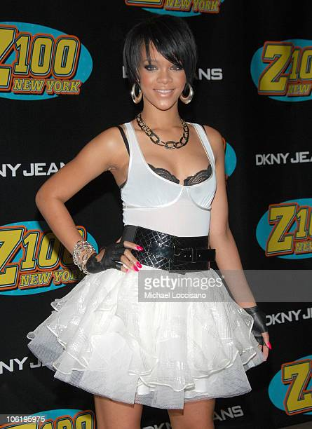Rihanna during Z100's Zootopia 2007 - Press Room at Nassau Colliseum in New York City, New York, United States.