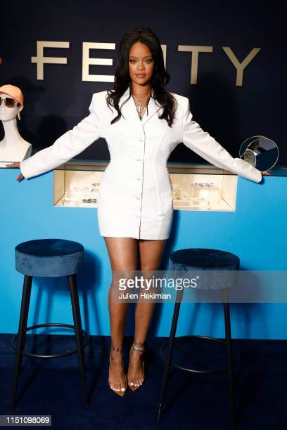 Rihanna hosts Fenty Launch on May 22 2019 in Paris France