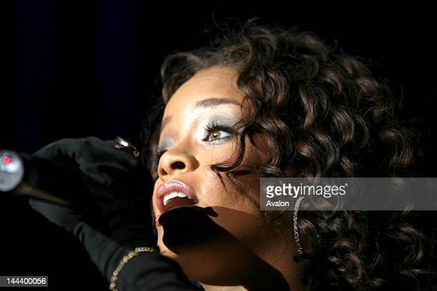 Rihanna in concert performing live at the NEC in Birmingham Thursday 30th November 2006 Job 17731 Ref IYS
