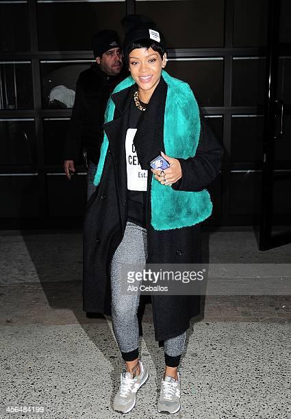 Rihanna is seen on December 13 2013 in New York City
