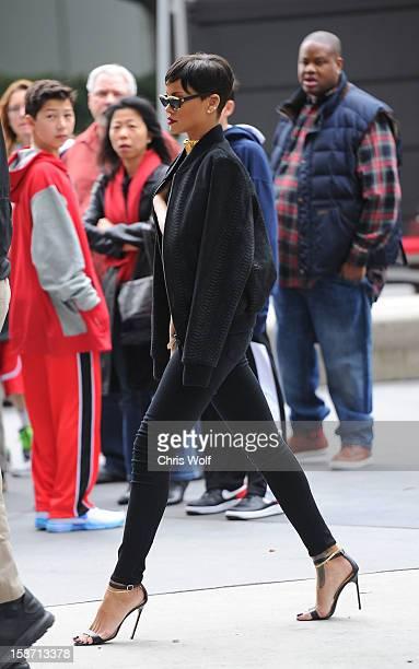 Rihanna is seen on December 25 2012 in Los Angeles California