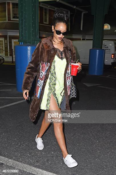 Rihanna is seen on March 19 2015 in New York City