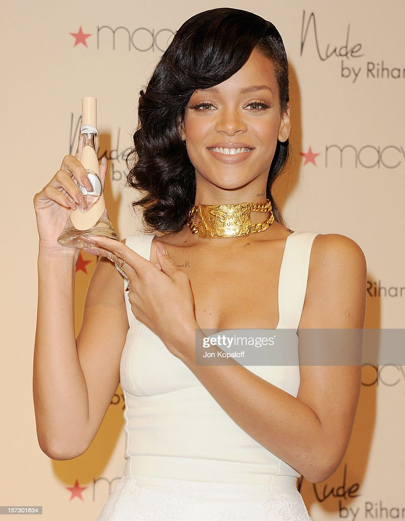 Rihanna launches rihanna launches nude by rihanna at macys westfield century city on december 1 voltagebd Image collections