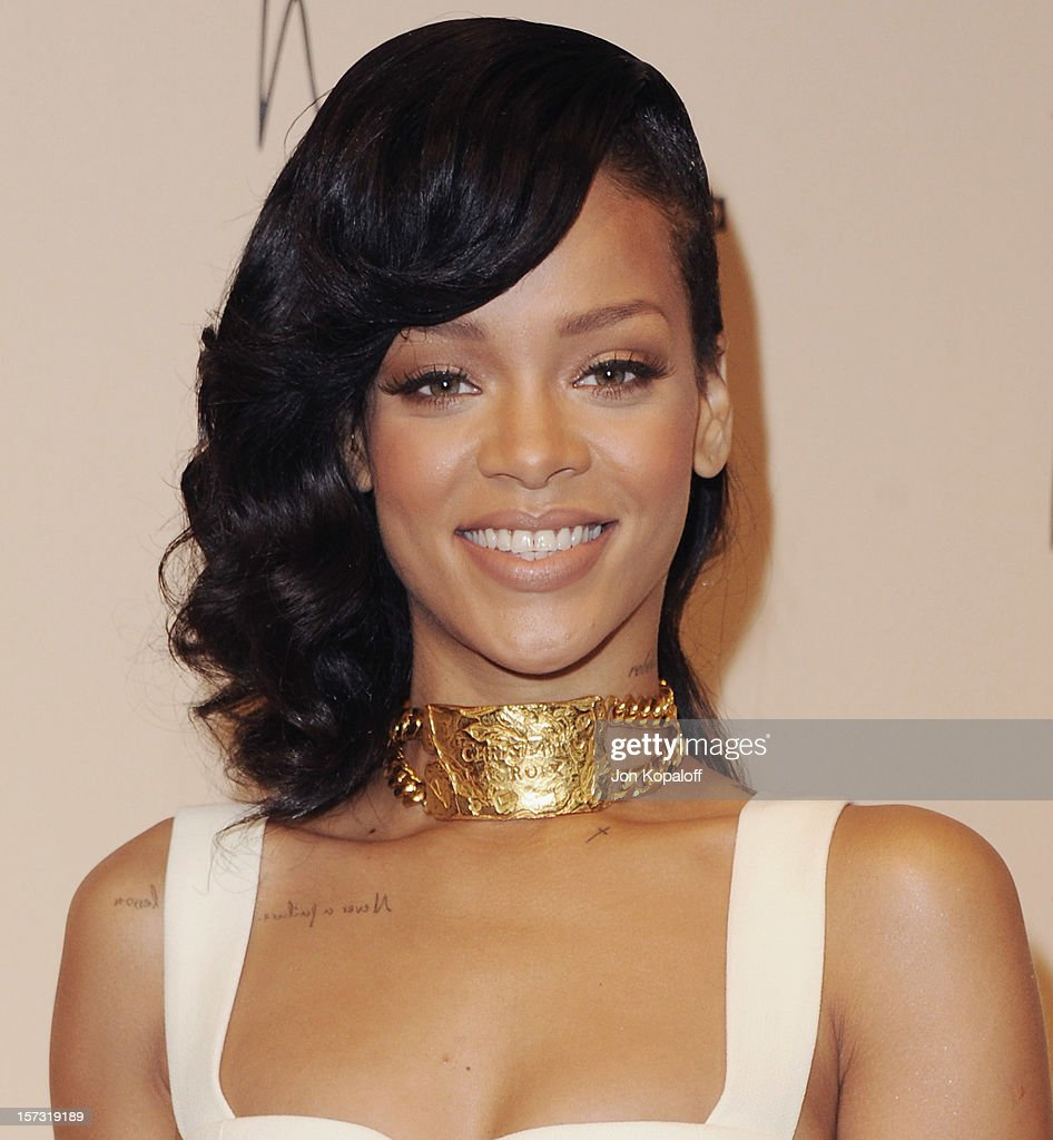 "Rihanna Launches ""Nude by Rihanna"" : News Photo"