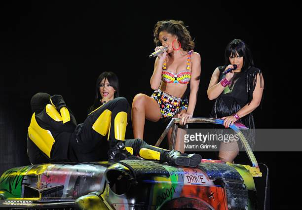 Rihanna performs at SECC on October 10 2011 in Glasgow Scotland