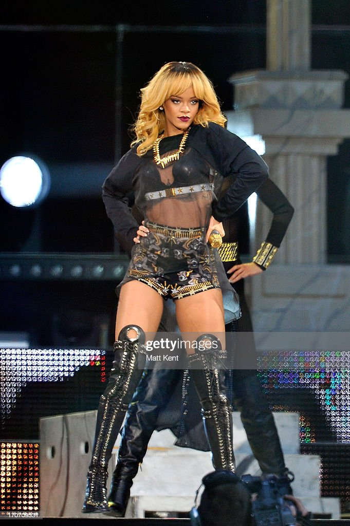 Rihanna Performs At Twickenham