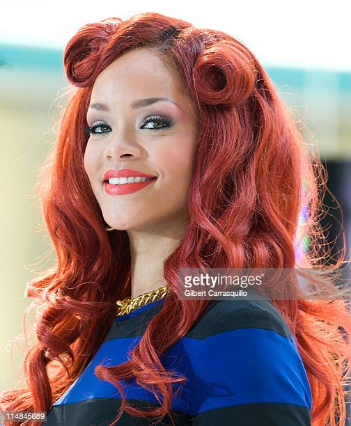 """Rihanna performs during NBC's """"Today Show"""" 2011 summer concert series at Rockefeller Plaza on May 27, 2011 in New York City."""