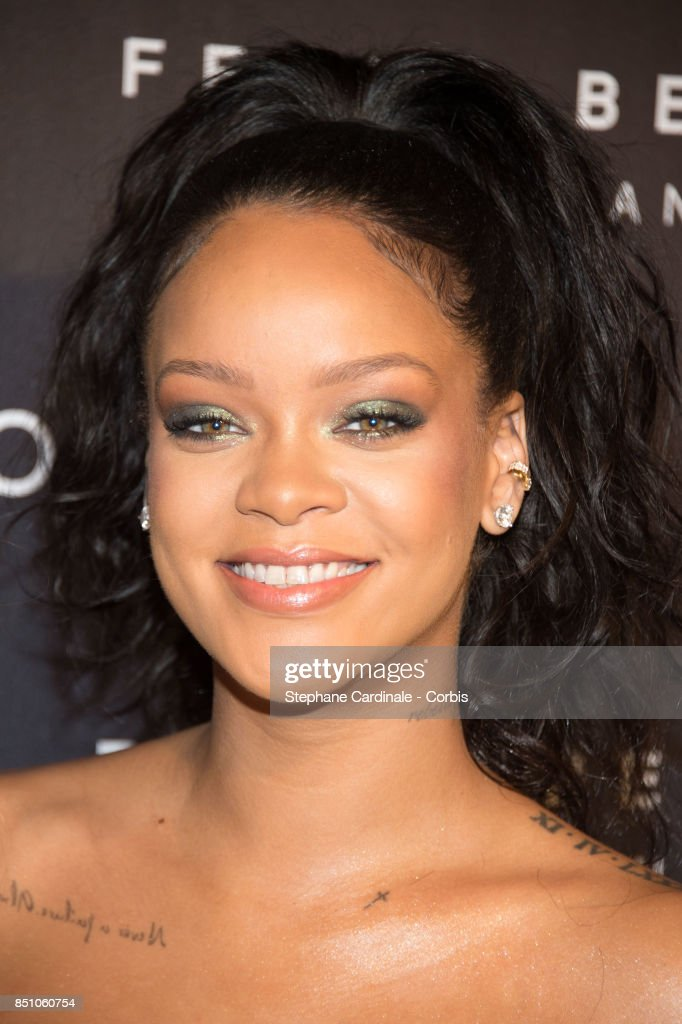 Sephora Hosts Fenty Beauty By Rihanna Launches in Paris : News Photo