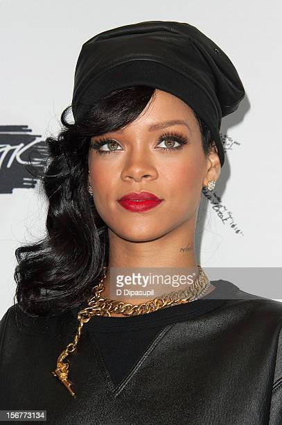 Rihanna promotes Unapologetic at Best Buy Theater on November 20 2012 in New York City