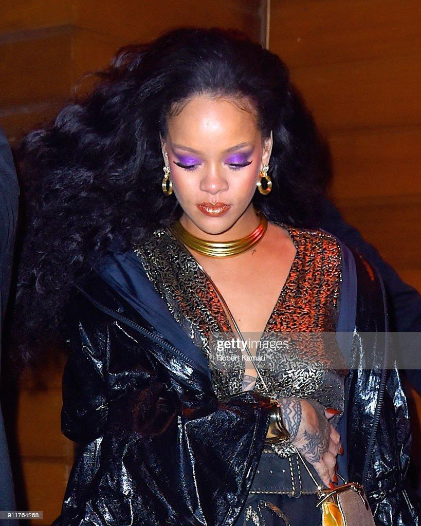 Celebrity Sightings in New York City - January 28, 2018 : ニュース写真