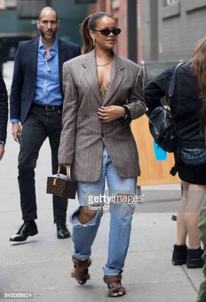 Rihanna seen on September 9 2017 in New York City
