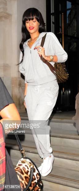 Rihanna sighting on June 24 2012 in London England