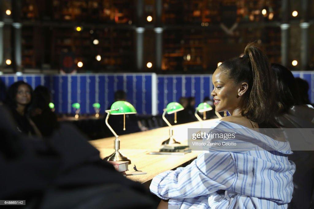 FENTY PUMA by Rihanna Fall / Winter 2017 Collection - Backstage : News Photo