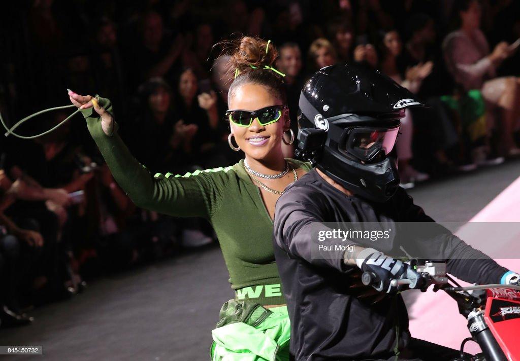 Fenty Puma By Rihanna - Front Row & Backstage - September 2017 - New York Fashion Week : News Photo