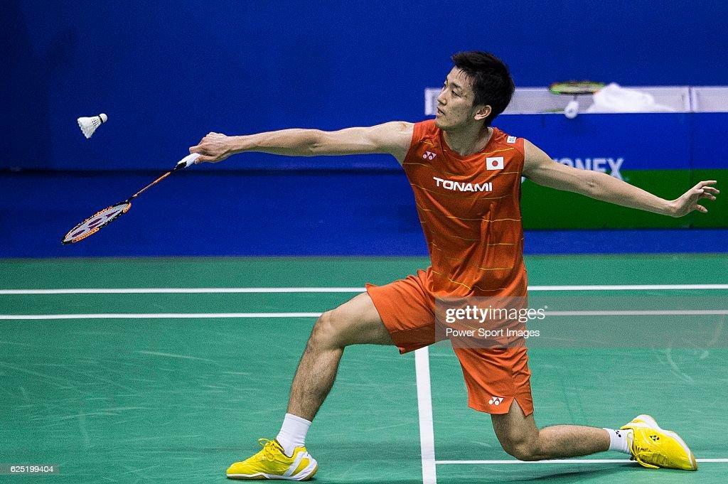 2016 Hong Kong Open Badminton Championships : News Photo