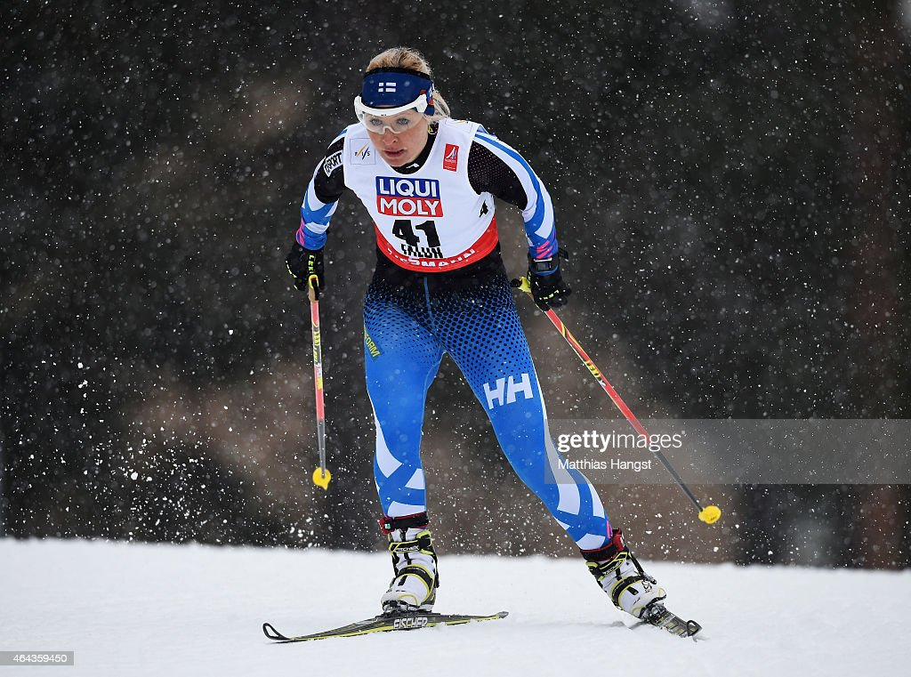 Cross Country: Women's 10km - FIS Nordic World Ski Championships : News Photo