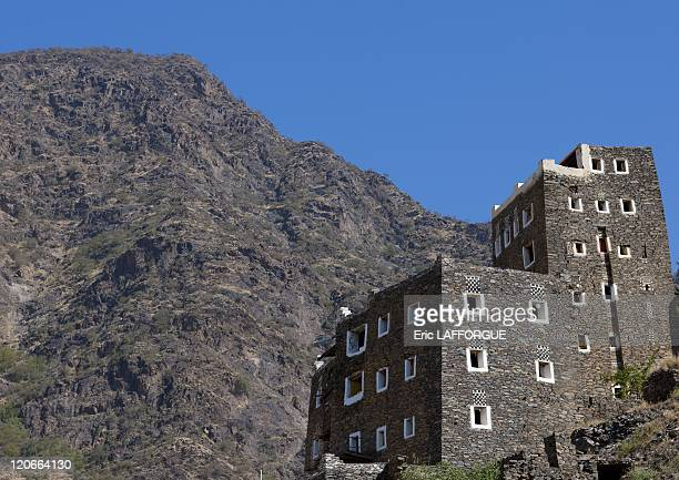 Rijal Alma village in Saudi Arabia on January 18 2010 Rijal Alma village The whole village has been turned in a tourist attraction Most of the people...