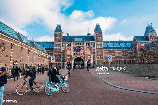 rijksmuseum, amsterdam, netherlands - rijksmuseum stock photos and pictures