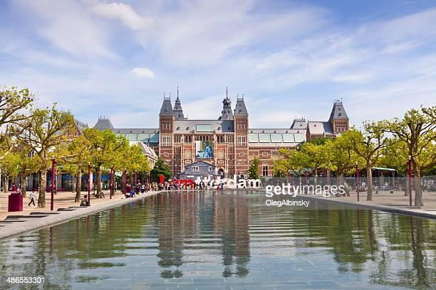rijksmuseum, amsterdam. - rijksmuseum stock photos and pictures