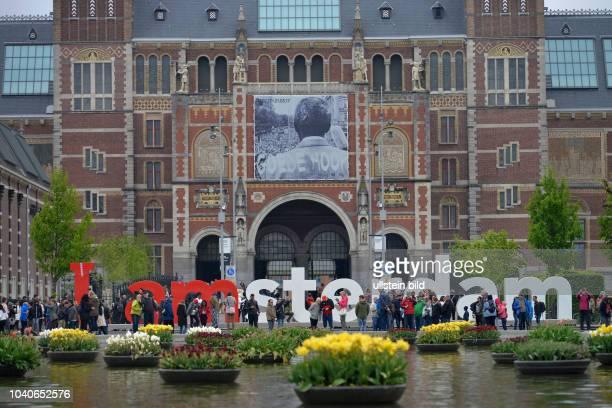 Rijksmuseum Museumstraat Amsterdam Niederlande