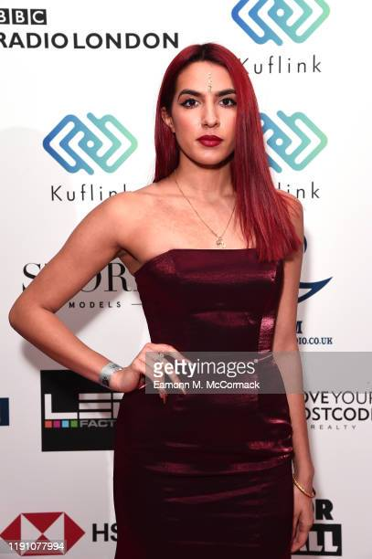 Rika attends the Brit Asia TV Music Awards 2019 at SSE Arena Wembley on November 30 2019 in London England