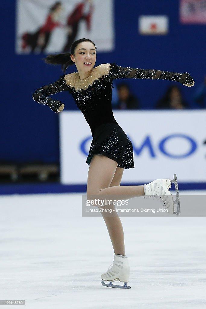 ISU Grand Prix Of Figure Skating - Day 2 : News Photo