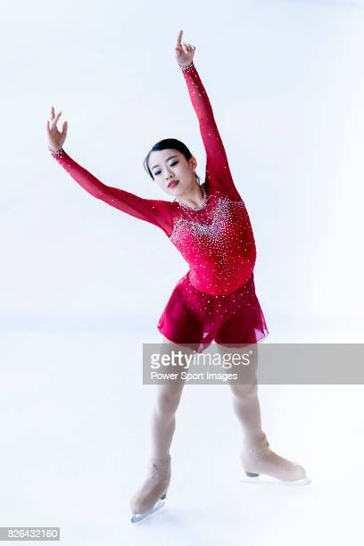 Rika Kihira of Japan competes in Junior Ladies group during the Asian Open Figure Skating Trophy 2017 on August 4 2017 in Hong Kong Hong Kong