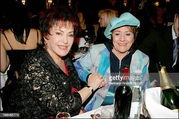 Rika Zarai and Annie Girardot at Dalida TV Film Tribute To The Singer