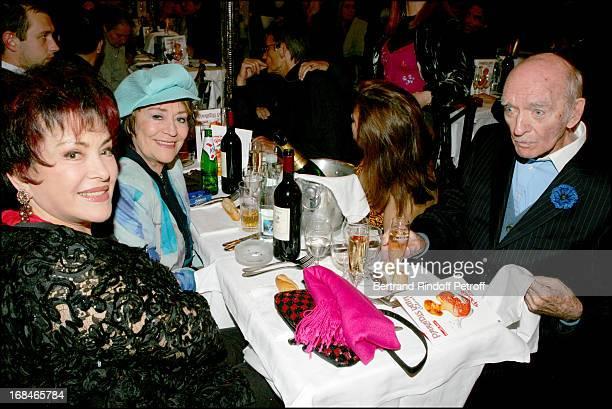 Rika Zarai Annie Girardot and Eddie Barclay at Dalida TV Film Tribute To The Singer