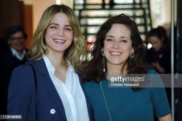 Rike Schmid and Anja Knauer attend the Hessian reception during the 69th Berlinale International Film Festival on February 12 2019 in Berlin Germany