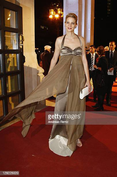 Rike Schmid attends the 22nd Hesse Movie Award at Alte Oper on October 14 2011 in Frankfurt am Main Germany