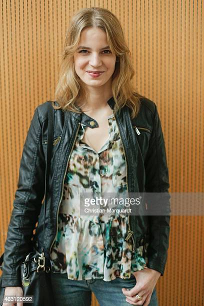 Rike Schmid attends the Hessian Reception 2015 during the 65th Berlinale International Film Festival on February 10 2015 in Berlin Germany on...