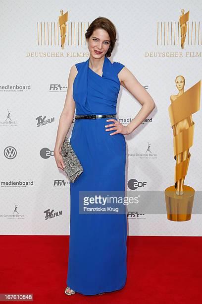 Rike Schmid attends the Lola German Film Award 2013 at FriedrichstadtPalast on April 26 2013 in Berlin Germany