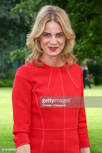 Rike Schmid attends the '#weiles2017ist' Reception And Closing Ceremony at Bundeskanzleramt on July 17 2017 in Berlin Germany
