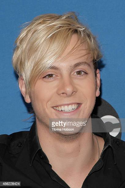 HOLLYWOOD CA MAY 13 Riker Lynch of R5 attends the 2014 MDA show of strength telethon at the Hollywood Palladium on May 13 2014 in Hollywood California