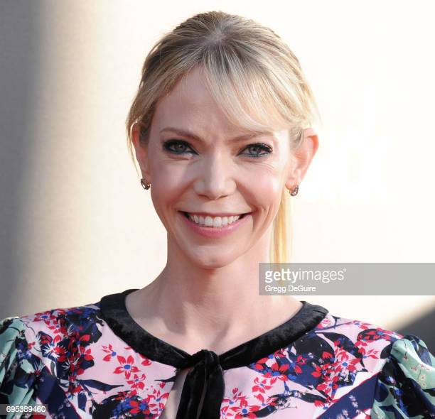 Riki Lindhome arrives at the premiere of Amazon Studios And Lionsgate's The Big Sick at ArcLight Hollywood on June 12 2017 in Hollywood California