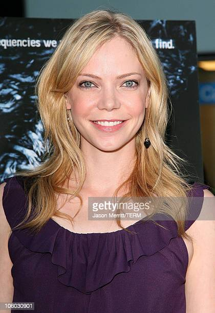 Riki Lindhome during Pulse Los Angeles Premiere Arrivals at ArcLight Theater in Hollywood California United States
