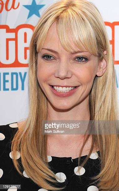 Riki Lindhome of Garfunkel Oates arrives for Malaria No More Presents Hollywood Bites Back at Club Nokia on April 16 2011 in Los Angeles California