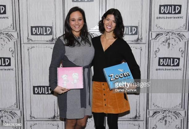 Riki MerisKoulouroudis and Effie Maris Sakellis attend the Build Brunch at Build Studio on December 18 2018 in New York City