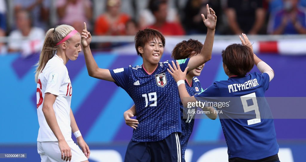 W27 v W28: Group  - FIFA U-20 Women's  World Cup France 2018 Semi Final