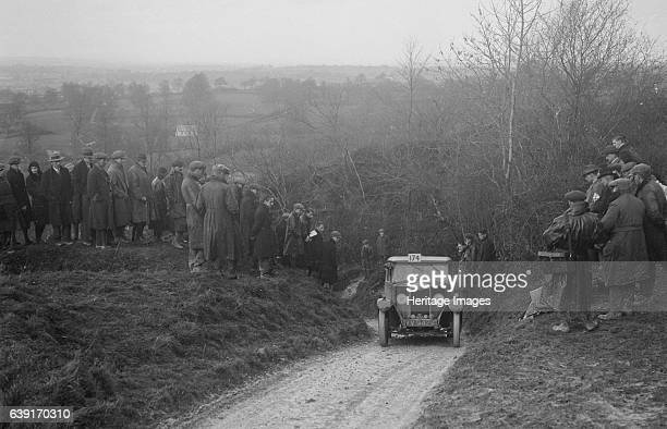 Riley 1087 cc Vehicle Reg No YV9424 Event Entry No 174 Driver BG Marriott Award Gold Place Ibberton Hill Dorset MCC Exeter Trial Date 26/271230...