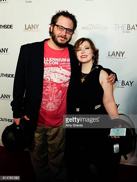 Riley and Concie Nelson attend the 5th Annual LANY Entertainment Mixer at St Felix on March 10 2016 in Hollywood California