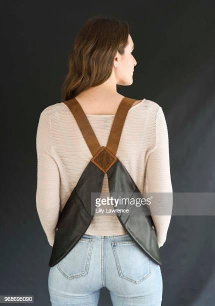 Riley Beres wearing Dirtbags LA handbag at Giveback Day at TAP The Artists Project on June 6 2018 in Los Angeles California
