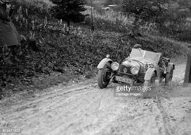 Riley Brooklands 2seater sports of JE Lancaster taking part in the InterVarsity Trial 1930 Riley Brooklands 2 seater sports 1929 1089 cc Vehicle Reg...