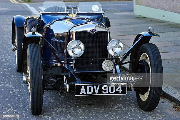 riley brooklands two seater sports - john riley stock photos and pictures