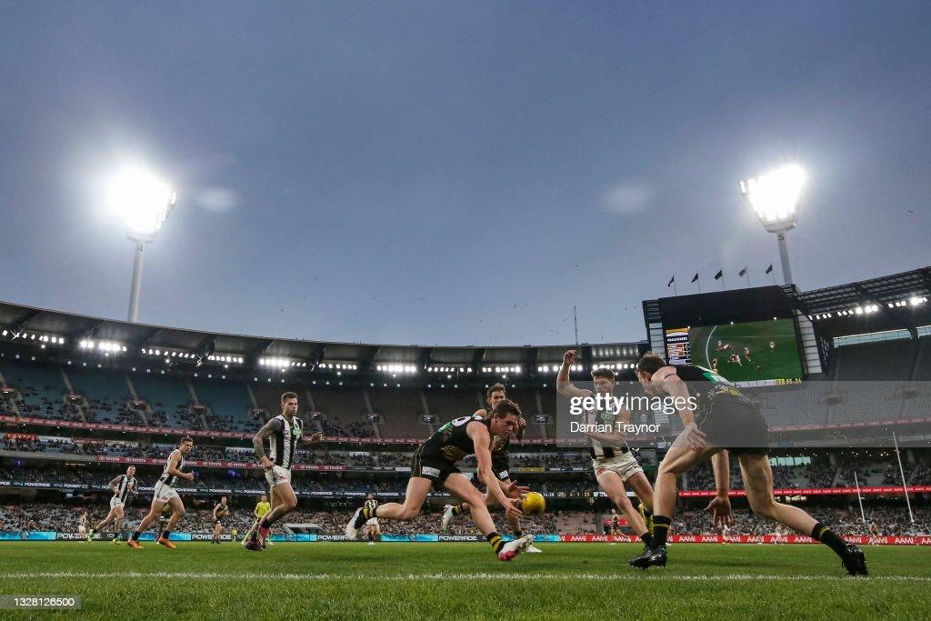 AFL Rd 17 - Richmond v Collingwood : News Photo