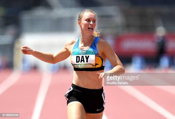 Riley Day wins the final of the Women's 200m event during the Australian Athletics Championships Nomination Trials at Carrara Stadium on February 18...