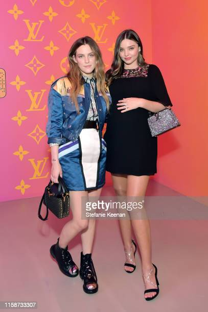 Riley Keough and Miranda Kerr attend Louis Vuitton X Opening Cocktail on June 27, 2019 in Beverly Hills, California.