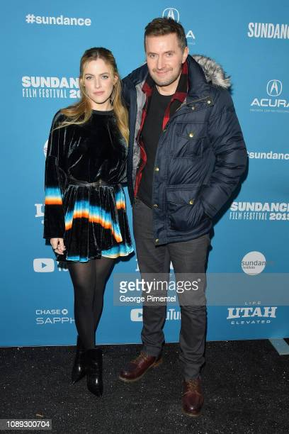 Riley Keough and Richard Armitage attend the The Lodge Premiere during the 2019 Sundance Film Festival at Library Center Theater on January 25 2019...